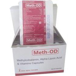 Methylcobalamin Alpha Lipoic Acid and vitamins Capsules