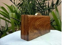 Fancy Wooden Clutch
