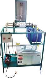 Rota Meter, Venturi Meter & Orifice Meter Combine Unit