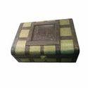 Rectangular Antique Wooden Regjin Bangle Box
