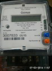 Single Phase Meters Genus Make