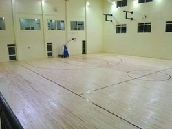 Indoor Maple Wood Basketball Flooring