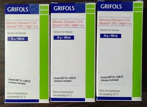 Human Albumin Grifols Injection