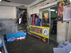 Canteen Advertising Banners