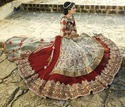 Colored Designer Bollywood Lehenga Choli