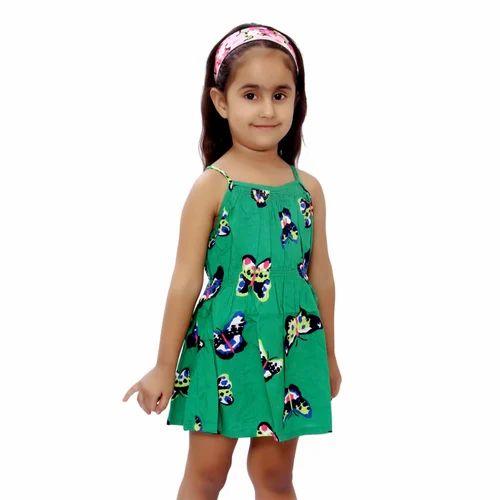 7f99bb41531d Cotton Wardtrobe Kids Girl Dress, Rs 250 /piece, Pawan Fab. Tex ...