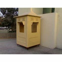 FRP Check Post Cabin