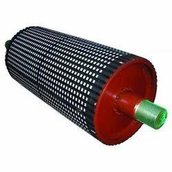 Mild Steel Conveyor Pulley, Capacity: 3 Ton