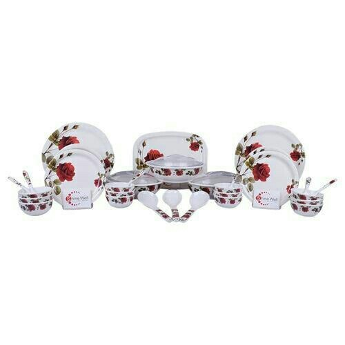 Melamine Dinner Set, Packaging Type: Carton Box