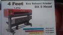 4 Feet ECO Solvent Printer