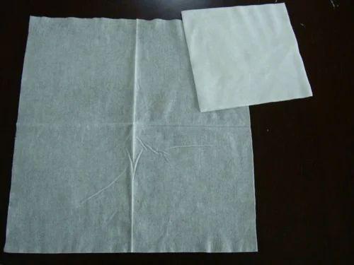 Spunlace Fabric Dry Wipe, 100, Packaging Type: Packet