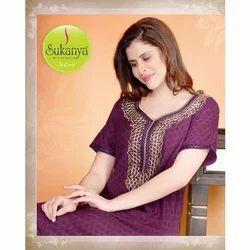 72dce9aff5 Fancy Nighty - Ladies Alpine Nighty Manufacturer from Mumbai