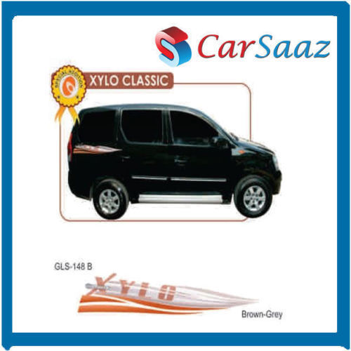 Carsaaz car graphics decals for mahindra xylo rk0471