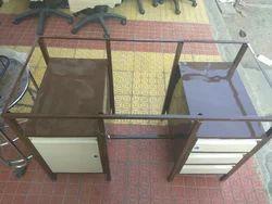 Metal Rectangular Office Table