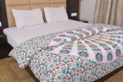 Indian Doona Cover Queen Cotton Duvet Cover