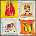 Pure Ethnic India Cushion Cover