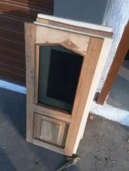 Standard Wooden Window, Size/Dimension: 13 X 31