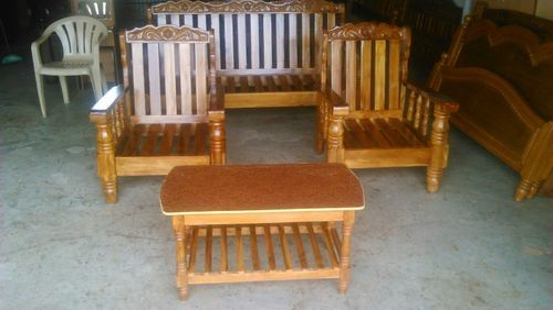 4inches Leg Sofa Teak Wood At Rs 26000 Number Padi