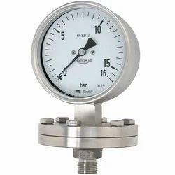 Bourdon Diaphragm Pressure Gauge