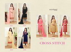 Aashirwaad Cross Stich Suit