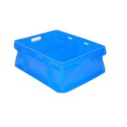 Blue Large Plastic Crate