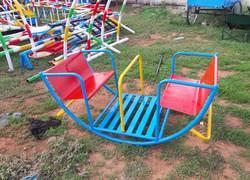 Playground 4 Seater Rocker