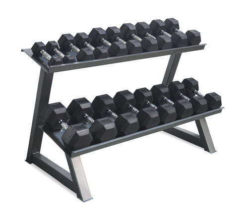 Gofit Weight Lifting Hex Dumbbell Rack