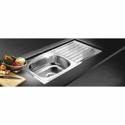Single Silver Franke SS Kitchen Sinks