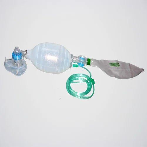 White Silicone Resuscitator Adult