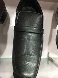 Black Color Leather Shoes