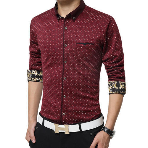 Printed Designer Shirt at Rs 225 /piece | Gents Shirts, Mens ...