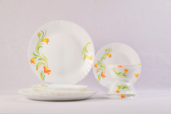 Yellow Lily 12 Pcs Dinner Set