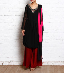 Party Wear Designer Embroidery Suits