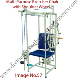 Multipurpose Exercise Quadriceps chair