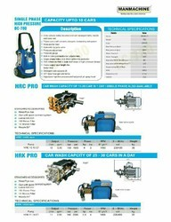 Metal Three Phase Water Wash Pumps, Model Name/Number: Man Machine -hrk And Hrc, Pump Size: 3x2