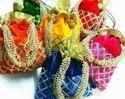 Velvet Potli Bag With String