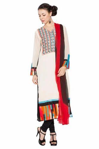 b9754aafa8 Long Pakistani Style Designer Ladies Salwar Suit Long Kurti at Rs ...