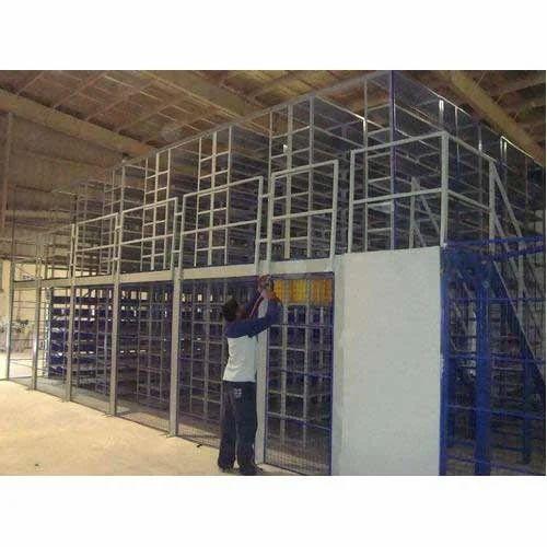 Industrial Racks - Slotted Angle Shelving Rack Manufacturer