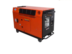 Luccas 5 kVA Diesel Silent Portable Genset, Voltage: 230 Volts