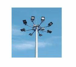 High Mast Lighting System With Solar