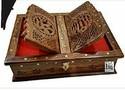 Wooden Rehal Quran Box
