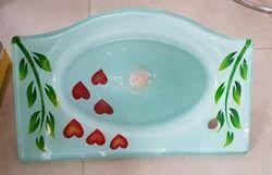 18x12 Designer Glass Wash Basin