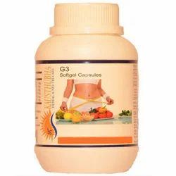 Kausthubha G3 Herbal Softgel Capsules for Hospital, Packaging Type: Plastic Bottle