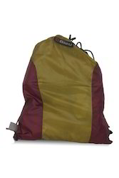 Yellow & Maroon Backpack String Bag
