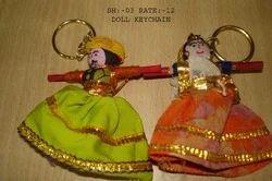 Rajasthani Kaka-Kaki Keychain