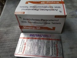 Aceclofenac Paracetamol With Serratiopeptidase Tablets