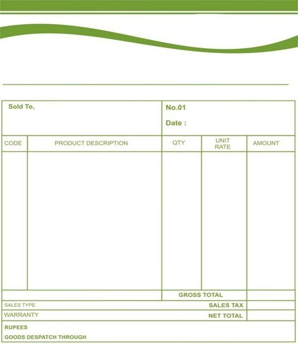 Shop Bill Book Office Stationery Printing Icon Cards Delhi Id