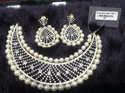 Pearl Gold Plated Necklace Set