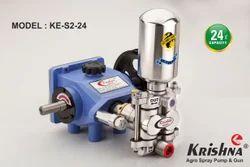 Krishna Stainless Steel Plunger Pump (KE-S2-24)