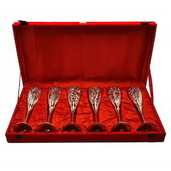 Silver Plated Special Wine Glass Set